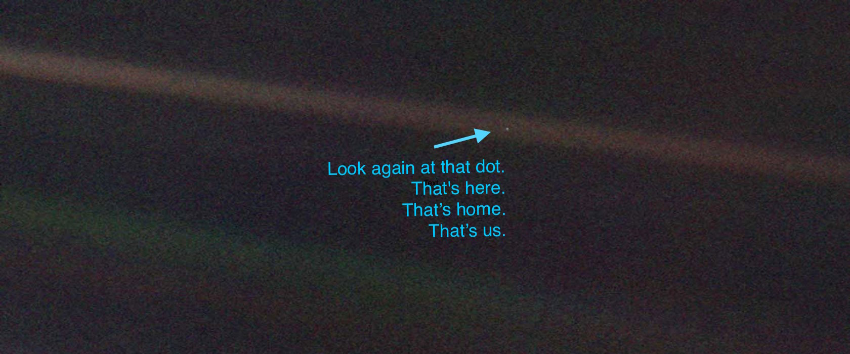 The Pale Blue Dot | Mathalope